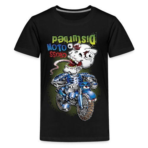 Disturbed Motocross Racer - Kids' Premium T-Shirt