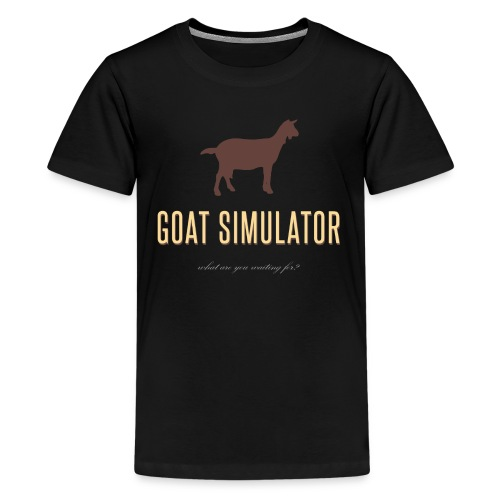 Goat Simulator - Kids' Premium T-Shirt