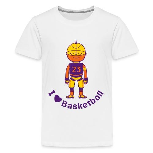 Basketball - Kids' Premium T-Shirt