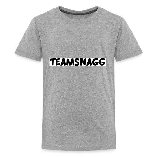 TeamSnagg Logo - Kids' Premium T-Shirt