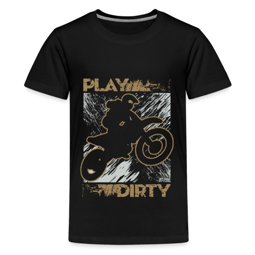 Dirt Bike Play Dirty - Kids' Premium T-Shirt