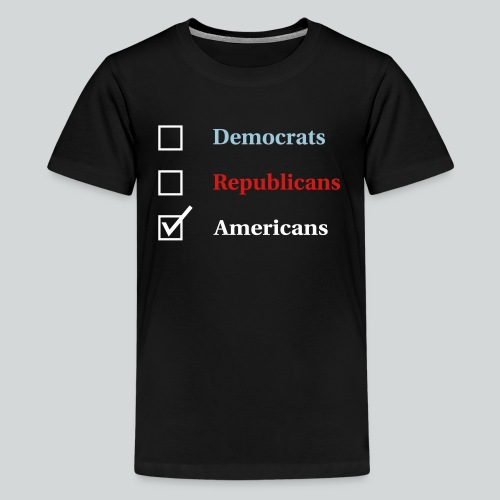 Election Ballot - Americans - Kids' Premium T-Shirt