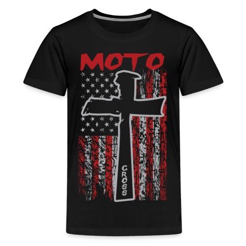 Motocross Christian - Kids' Premium T-Shirt