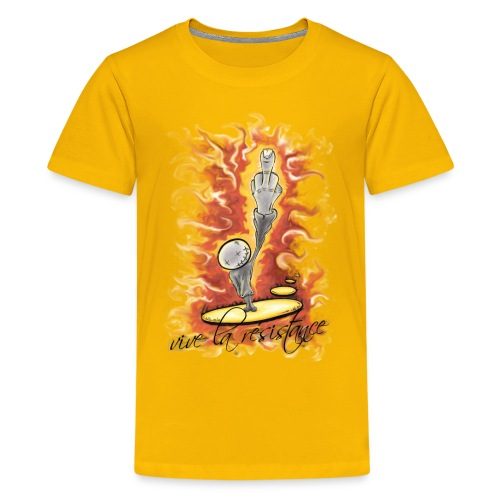 vive la résistance red - Kids' Premium T-Shirt