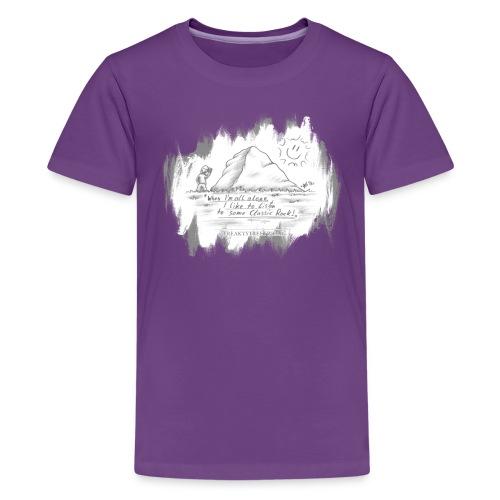 Listen to Classic Rock - Kids' Premium T-Shirt