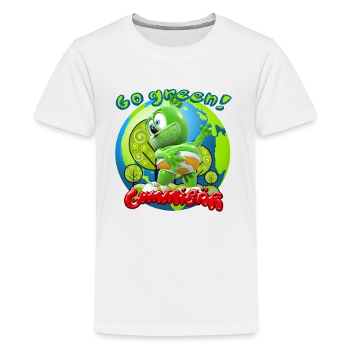 Gummibär Go Green Earth Day Earth - Kids' Premium T-Shirt
