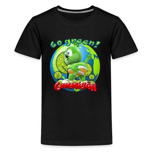 Gummibär Go Green Earth Day Earth - Kids' Premium T-Shirt