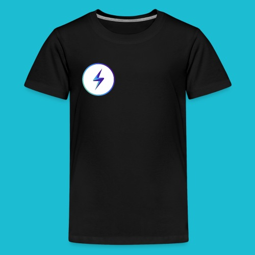 lightning logo - Kids' Premium T-Shirt