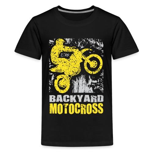 Backyard Motocross Suzuki - Kids' Premium T-Shirt