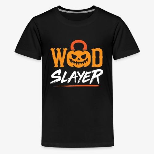 WOD Slay er Pumpkin - Kids' Premium T-Shirt