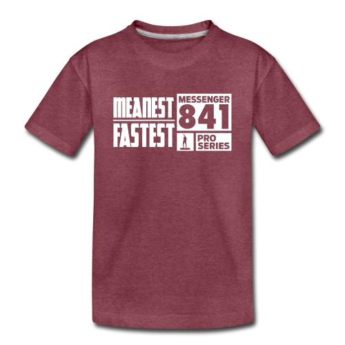 Messenger 841 Meanest and Fastest Crew Sweatshirt - Kids' Premium T-Shirt