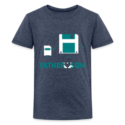 Father and Son - Kids' Premium T-Shirt