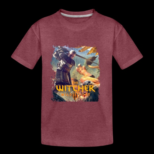 The Witcher 3 - Griffin - Kids' Premium T-Shirt