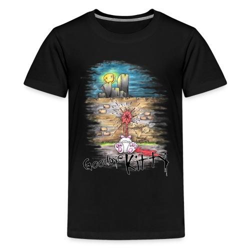 goodbye kitty - Kids' Premium T-Shirt