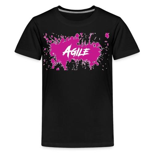 AgileNation Splatter Design - Kids' Premium T-Shirt