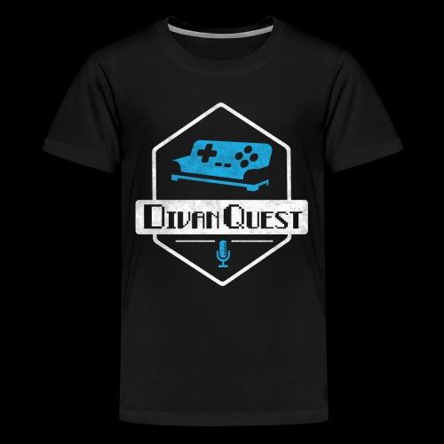 DivanQuest Logo (Badge) - Kids' Premium T-Shirt