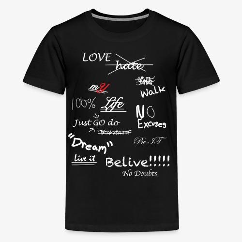 100% mYLife - Kids' Premium T-Shirt