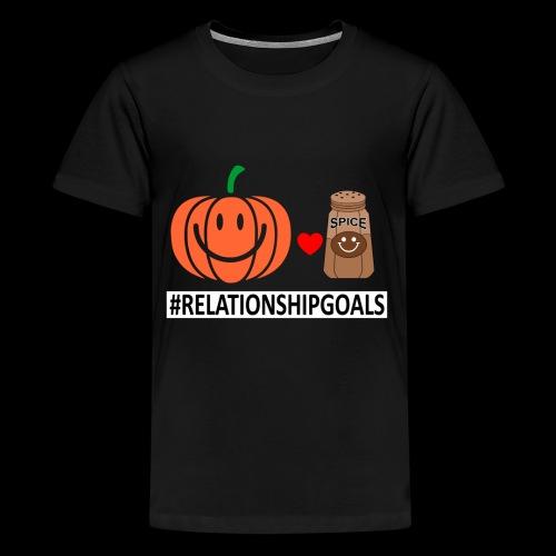 Relationship Goals | Caffeinated Love - Kids' Premium T-Shirt