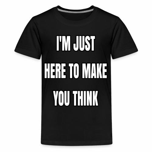 IJHTMYT (White Font) - Kids' Premium T-Shirt