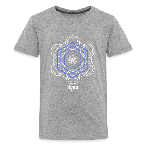 Aqua Water Element Alchemy Design - Kids' Premium T-Shirt