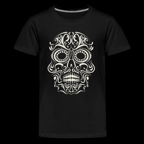 Sugar Skull Calavera - Kids' Premium T-Shirt