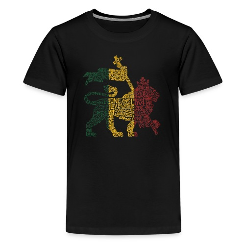 One Love Lion Tee - Kids' Premium T-Shirt