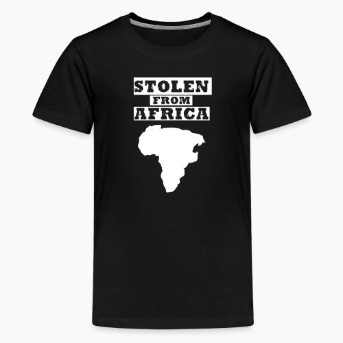 SFA LOGO WHITE - Kids' Premium T-Shirt