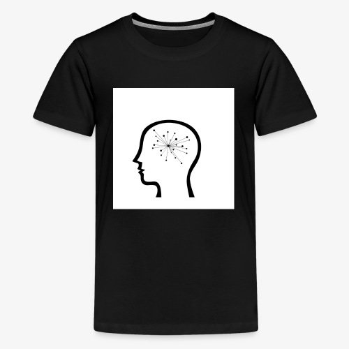 ThoughtSparks Simple Logog in White - Kids' Premium T-Shirt