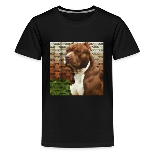 Pitbull- Faith Thread - Kids' Premium T-Shirt