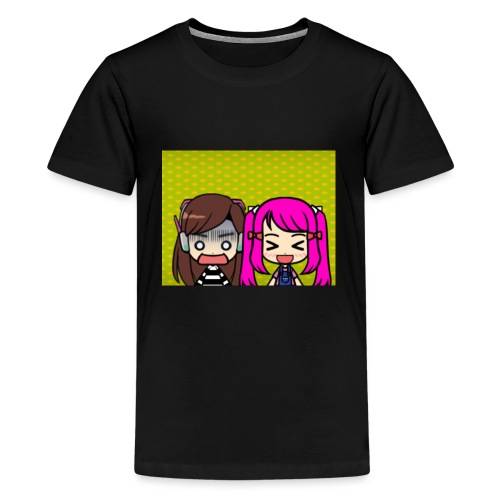 Phone case merch of jazzy and raven - Kids' Premium T-Shirt