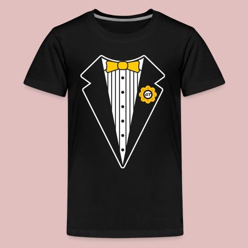 Keep It Classy Tux Shirt - Kids' Premium T-Shirt