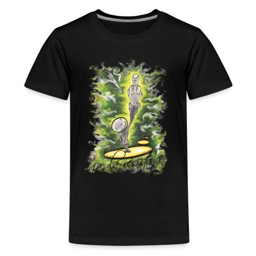 vive la résistance green - Kids' Premium T-Shirt