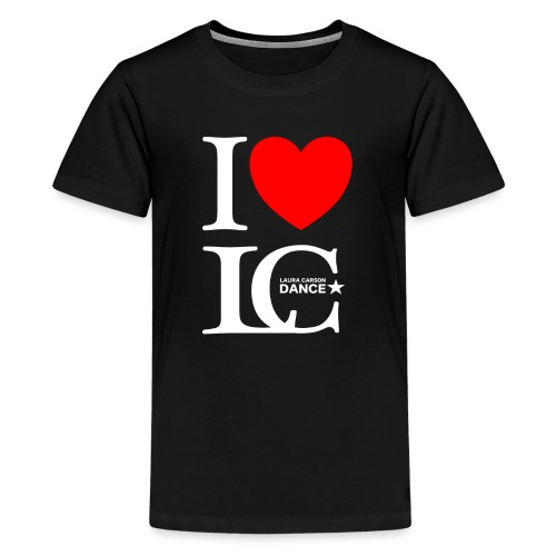 I Heart LCDance - Kids' Premium T-Shirt