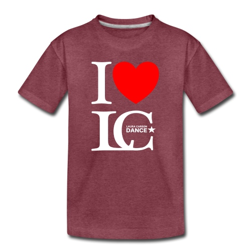 I Heart LCDance - Kids' Premium T-Shirt
