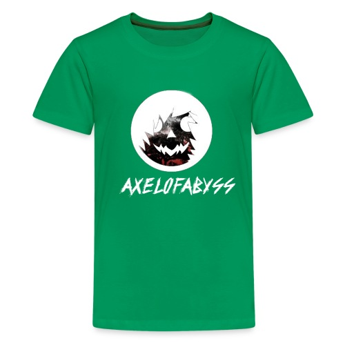 Axelofabyss Red with Nature - Kids' Premium T-Shirt
