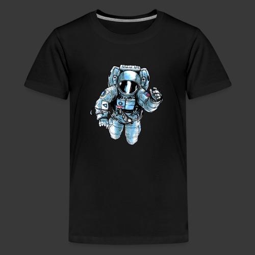 Astronaut in space - Kids' Premium T-Shirt