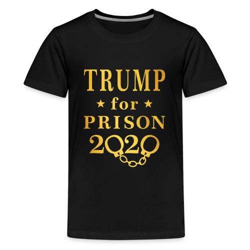 Trump for Prison 2020 Gold - Kids' Premium T-Shirt