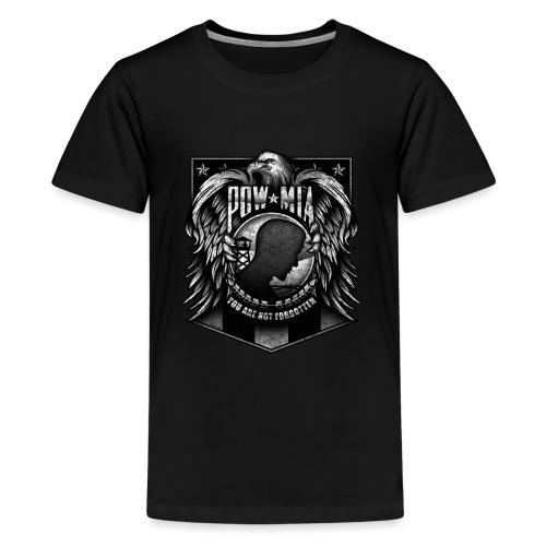 POW MIA - Kids' Premium T-Shirt