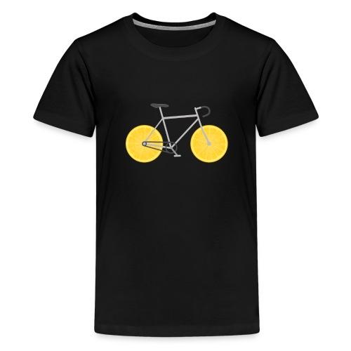Lemon Bike - Kids' Premium T-Shirt