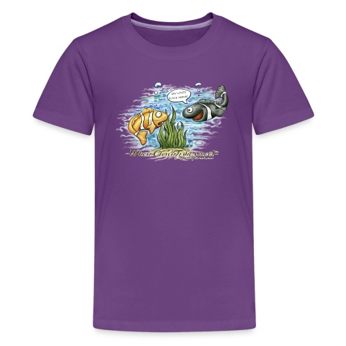 when clownfishes meet - Kids' Premium T-Shirt