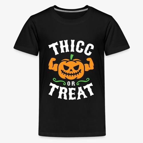 Thicc Or Treat - Kids' Premium T-Shirt