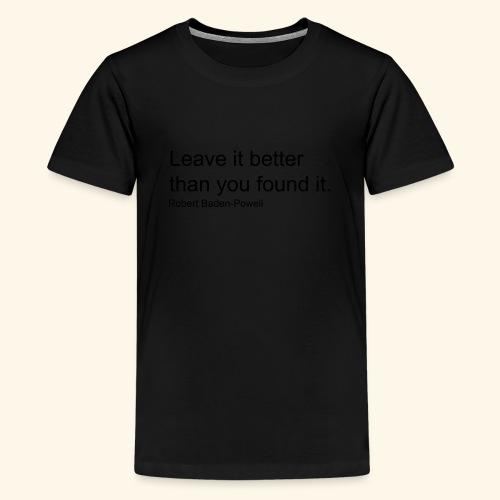 BP Leave in Better - Kids' Premium T-Shirt