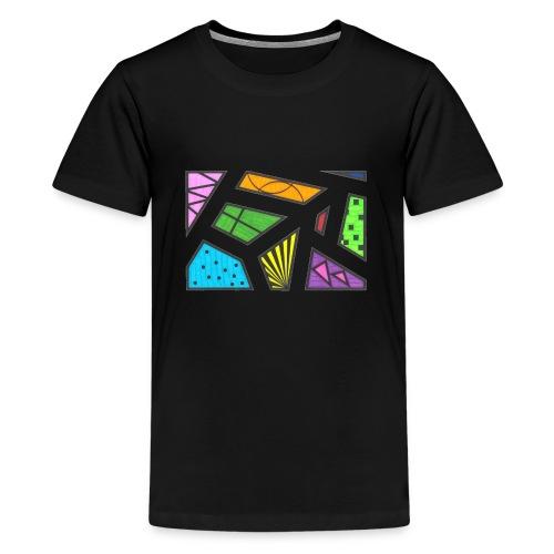 geometric artwork 1 - Kids' Premium T-Shirt