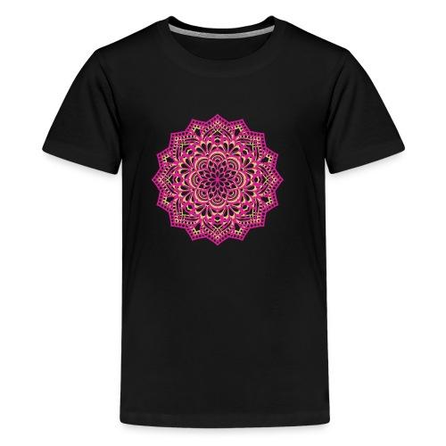 mandala Design - Kids' Premium T-Shirt