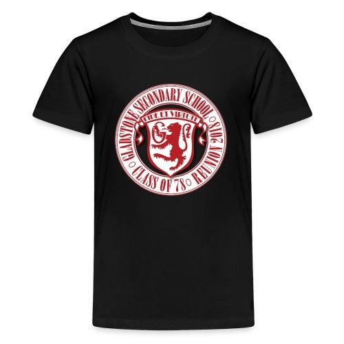 Gladstone White Circle - Kids' Premium T-Shirt