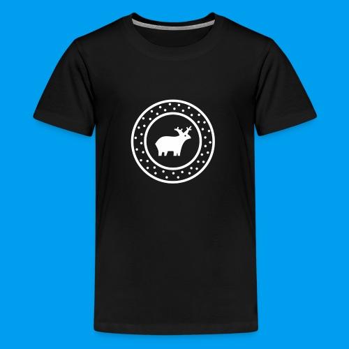 Christmas Deer - Kids' Premium T-Shirt
