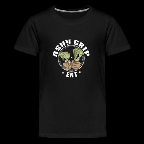 Ashy Grip Logo 1 - Kids' Premium T-Shirt