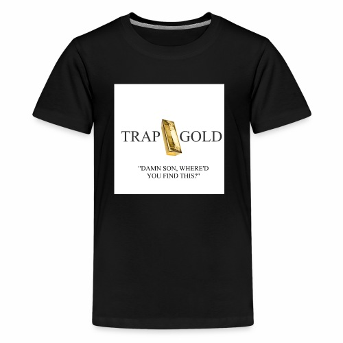 trap gold logo - Kids' Premium T-Shirt