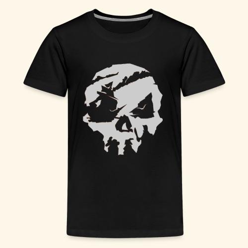 Sea of Thieves Inspired Skull - Kids' Premium T-Shirt