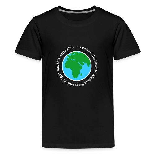 I visited the World's Biggest Form - Kids' Premium T-Shirt